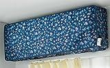 洗える エアコン カバー ブルー 空調 清潔