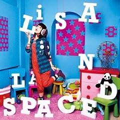 LiSA「Canvas boy × Palette girl」のジャケット画像