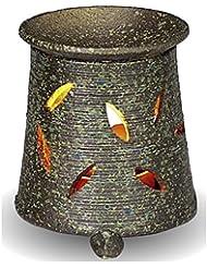 常滑焼 茶香炉(アロマポット)径9.5×高さ10.5cm