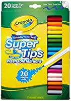[クレヨラ]Crayola 20CT Super Tips Marker 58-8106 [並行輸入品]