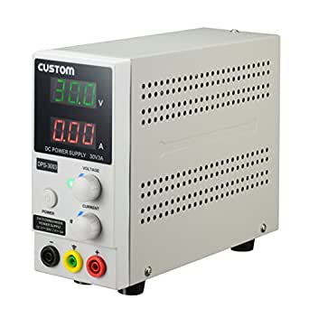 カスタム (CUSTOM) 直流安定化電源 0~3.0Aスリム型 DPS-3003