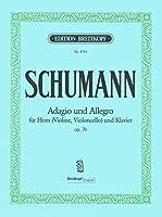 シューマン : アダージョとアレグロ 変イ短調 作品70 (ホルン、ピアノ) ブライトコプフ出版