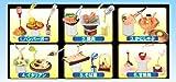 おどる食品サンプル ぷちサンプルシリーズ ディスプレイ 食玩 リーメント(全6種フルコンプセット)