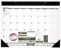 at a glanceリサイクルmonthlyデスクパッドカレンダー2015 21 75 x 15