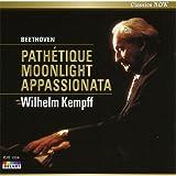 ベートーヴェン:3大ピアノ・ソナタ 悲愴/月光/熱情/ヴィルヘルム・ケンプ(ピアノ) [CD] EJS-1034  ~「ハ短調 Op.13 《悲愴》」「嬰ハ短調 Op.27の2 《月光》」「ヘ短調 Op.57 《熱情》」~