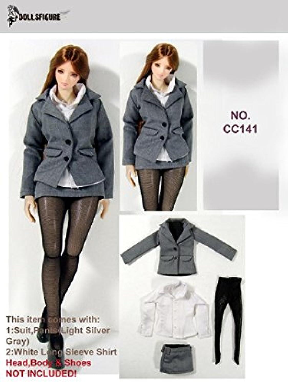 Artcreator_BM OL スーツ グレー 秘書 コスチューム Dollsfigure cc141