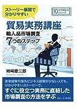 ストーリー展開で分かりやすい貿易実務講座輸入品市場調査7つのステップ。 (10分で読めるシリーズ)