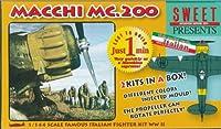 スイート 1/144 マッキMC.200 プラモデルキット 2機入り 14101