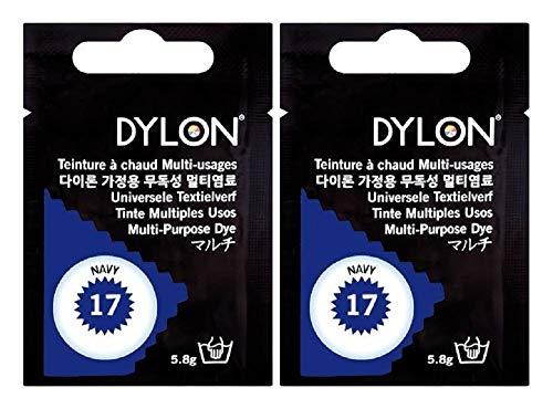 DYLON マルチ (衣類 繊維用染料) 5.8g col.17 ネイビー
