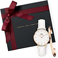 Gift Set Classic Petite Bondi White Watch  28mm+ Cuff RG Small