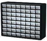 akro-mils 1076464-drawerプラスチックパーツストレージクラフトキャビネット、20インチ、ハードウェアで16インチby 6–1/ 2インチ、ブラック