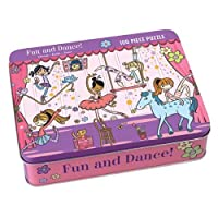 Mudpuppy Fun and Dance! 100 PC Puzzle Tin [並行輸入品]