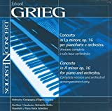 Music Minus One Piano: Grieg Piano Concerto in A-minor, op 16 (Soloist-In-Concert Series) by Compagnia d'Opera Italiana (2000-05-03)