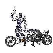 海洋堂 アッセンブルボーグ∞NEXUS ジャッカル&イェーガー ゴーストモーター (ABS&PVC塗装済みアクションフィギュア)