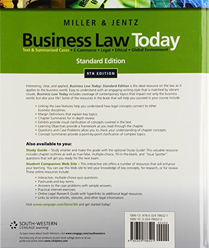 business law i summary The law makes no exception for business-to-business email that means all email - for example, a message to former customers announcing a new product line - must comply with the law each separate email in violation of the can-spam act is subject to penalties of up to $41,484, so non-compliance can be costly.