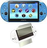 PlayStation Vita Wi-Fiモデル アクア・ブルー(PCH-2000ZA23) 【Amazon.co.jp限定】特典CYBER液晶&背面タッチパッド 保護フィルム (指紋防止タイプ)付