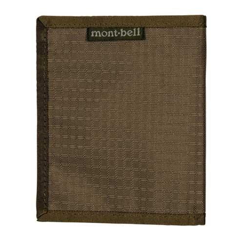 モンベル(mont‐bell) スリムワレット カーキブラウン KHBN