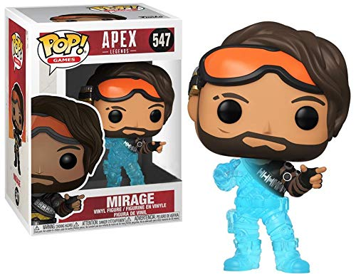 Funko POP! Games Apex Legends Fading Mirage Exclusive ビニールフィギュア 547