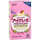 日亚:ICREO 固力果 婴幼儿牛奶粉1段 固体便携装12.7g×10本 特价518日元(约¥32)