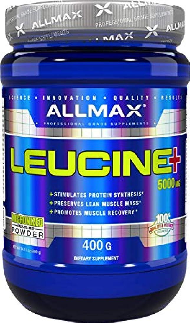それシンカンアカウントAllmax Nutrition オールマックス ニュートリション ロイシン 400g [並行輸入品]