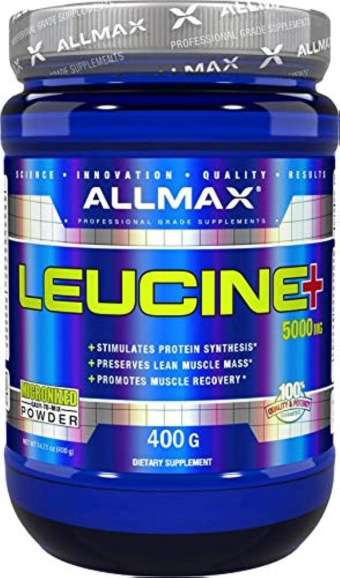 超高層ビルウルル成熟したAllmax Nutrition オールマックス ニュートリション ロイシン 400g