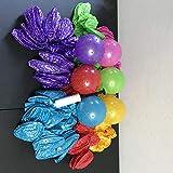 48個入り ノビーバウンス 5インチボール 3インチポンプ付き スパイクマッサージパーティー ピニャータ 6色 パーティー記念品 おもちゃ ピニャータ
