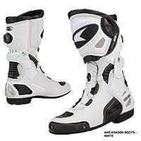 AXO アクソ Aragon Boots ホワイト 9(26.5cm)