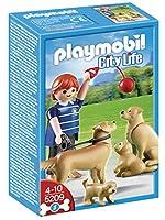 Playmobil 5209 Figurine Golden Retriever Family