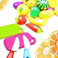 ING STYLE (イング スタイル) ザクザク切れる!野菜&果物 おままごとせっと 包丁?まな板付 ママのお手伝い クッキング 女の子 おもちゃ 20セット