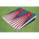 Patriotic FlagテーマCorn穴?ボードCornhole Game Set
