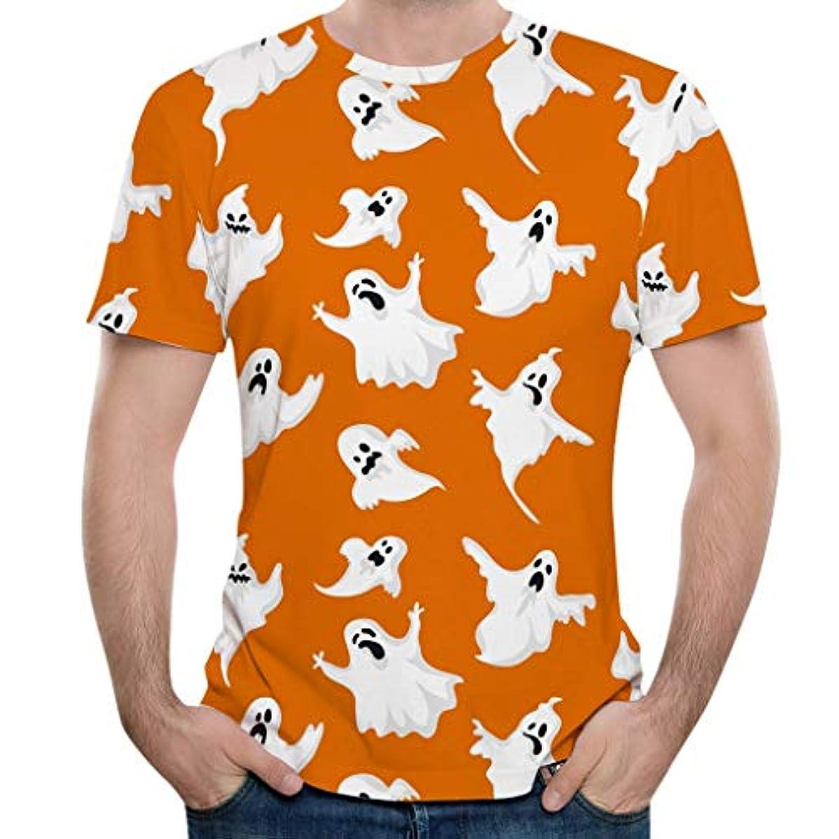 好きであるスリチンモイ会話Mangjiu tシャツ メンズ 夏 上着 おしゃれ シンプルなスタイル ホリデーギフト 吸汗 通気性 夏服 男性ハロウィン3DプリントOネック半袖Tシャツトップスブラウス