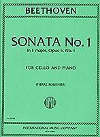 BEETHOVEN - Sonata Op. 5 nコ 1 en Fa Mayor para Violoncello y Piano (Fournier)