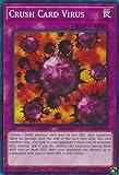 Yugioh 1st Ed Crush Card Virus LEDD-ENA31 Common 1st Edition Legendary Dragon Decks
