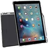 iPad Pro ケース Poetic アップル 12.9型 アイパッド プロ 対応 [ウルトラスリム] [TPU製 ケース] Smart Keyboard 対応 Apple Pencil 収納スロット付き クリアグレー