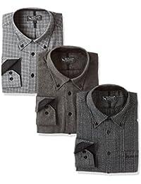 (ベルーナ) BELLUNA 【3枚セット】 <Mac Bogard.> 色で選ぶお洒落なデザインシャツ3枚組