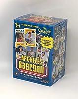 Topps 2018 Archives Baseball Blaster Box (8 Packs/8 Cards,2 Coin Inserts) [並行輸入品]