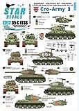 スターデカール 1/35 現用 バルカン半島 クロアチア陸軍 3 祖国戦争でのT-34/85戦車 プラモデル用デカール SD35-C1238