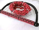 ウエイクボードハンドル EVA BAR Static line 65ft ラインセット 初級から中級ウエイクボード Strightline トーイング ライン 画像