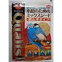 (まとめ買い)クオリス 小鳥のための ミックスシード 皮ムキタイプ 1.8kg 【×5】