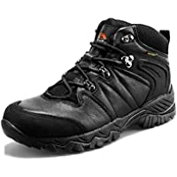 Clorts Women's Hiker Leather Waterproof Hiking Boot Outdoor Backpacking Shoe HKM822