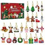 Artibetter クリスマス 吊り飾りセット アドベントカレンダー 24個セット おしゃれ
