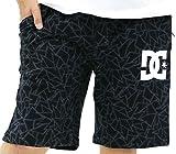 DC SHOES(ディーシーシュー) ショートパンツ メンズ スウェット 総柄ロゴ ハーフパンツ 柄1 M