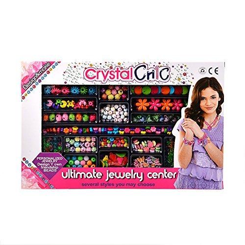 Fairystar DIYカラフルなアクリルビーズToyジュエリーMakingネックレスandブレスレットクラフトカラフルBoheボヘミアンスタイル女の子用ギフト