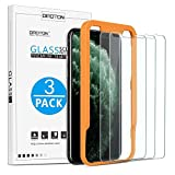 OMOTON [3 Pack] Screen Protector for Apple iPhone 11 Pro Max/iPhone Xs Max- Tempered glass/Alignment Frame/Anti Scratch Screen Protector for iPhone 11Pro Max/iPhone Xs Max 6.5 inch