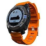 Lixada ランニングウォッチ スマートウォッチ 防水 アウトドアスポーツ用 心拍計 デジタル腕時計 活動量計