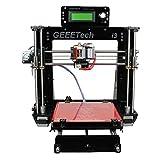 Geeetech Prusa Reprap Acrylic I3 DIY LCD filament 3D Printer + 1KG free ABS/PLA filament by easyshopping15 [並行輸入品]