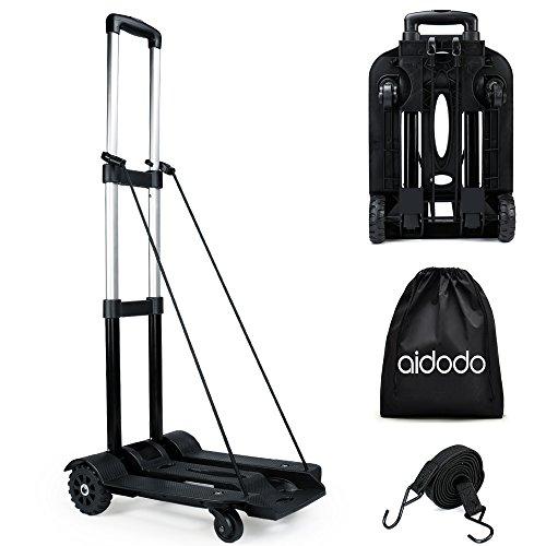 Aidodo キャリーカート 折りたたみ式 収納バッグ付属