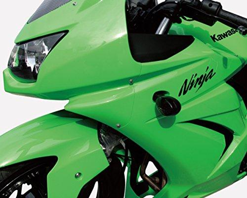 キタコ(KITACO) ウインカーレンズセット(左右1セット) Ninja250R(ニンジャ250R)/DトラッカーX/KLX250 スモーク 807-4771000