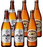 お歳暮 専用 アサヒスーパードライ キリンラガービール 大瓶 飲み比べ ギフトセット