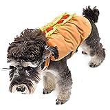 Best おかしいハロウィンコスチューム - Yhuisen ペットグッズペット犬ハロウィンコスチュームおかしいコートの衣装クールな子犬の服キャットの服 ( Size : S ) Review